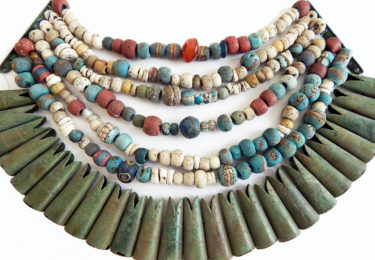 Ancient beads in Scandinavia