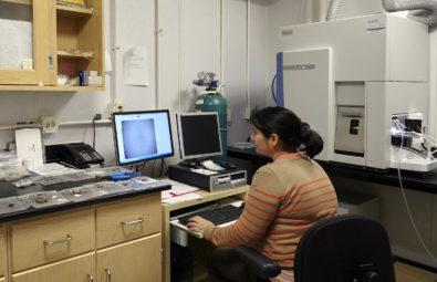 Archaeometric lab